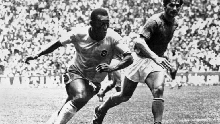 Pele's goalscoring achievements place him above the other greats