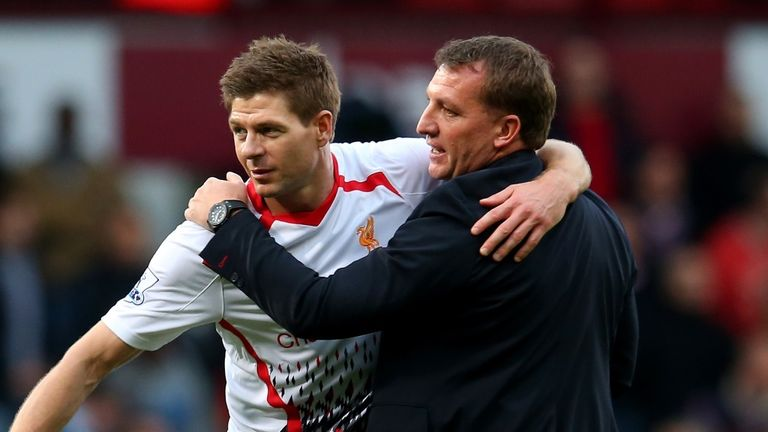 Brendan Rodgers: Now hopes Gerrard will return to Anfield in coaching capacity