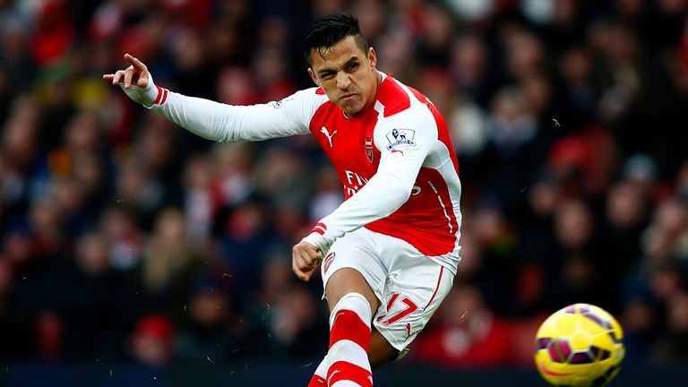 Alexis Sanchez : Will not play against Spurs in North London derby