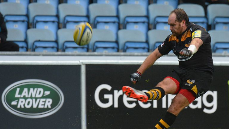 Andy Goode: Kicked a total of 16 points for Wasps