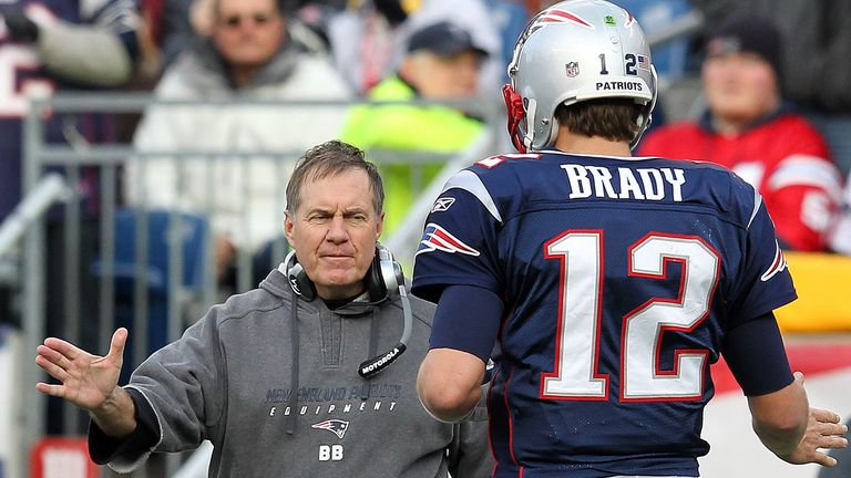 Brady has worked under Bill Belichick throughout his career