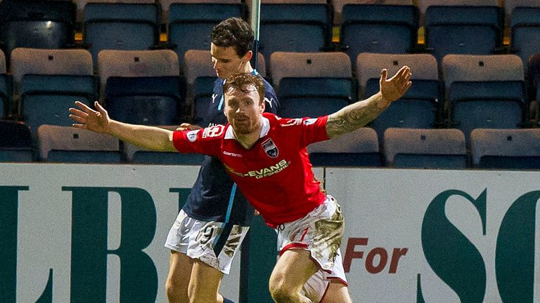Craig Curran: Among trio of strikers staying at Ross County
