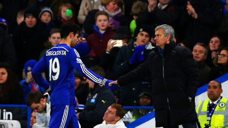 Chelsea pair Diego Costa and Jose Mourinho give the impression of being kindred spirits