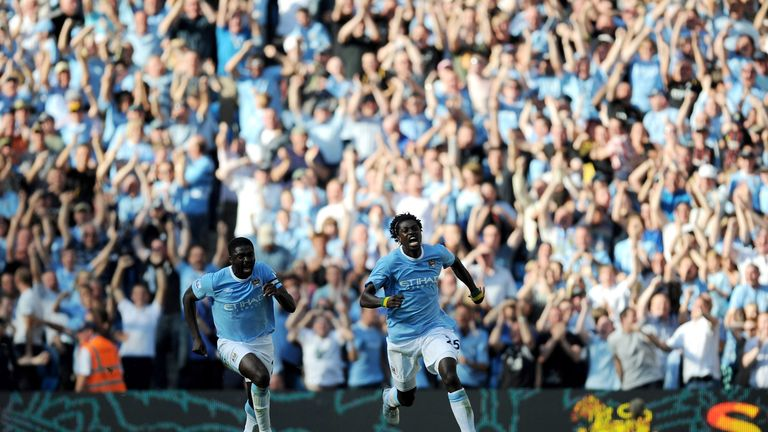 Adebayor moved from Arsenal to Manchester City in 2009