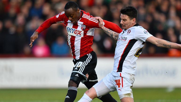 Moses Odubajo: Scored a late equaliser for Brentford against Millwall