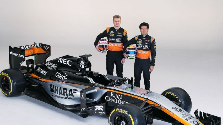 A new look for Force India