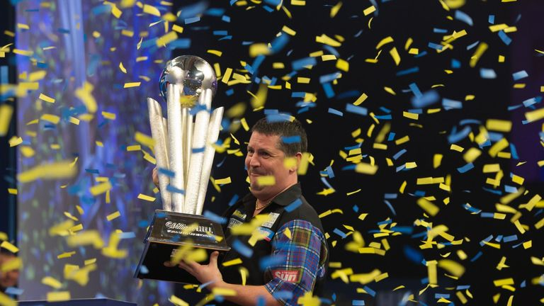More viewers than ever tuned in to watch Gary Anderson lift the  Sid Waddell World Championship trophy