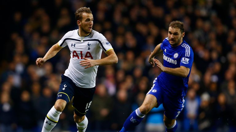 Harry Kane stunned Chelsea on New Year's Day