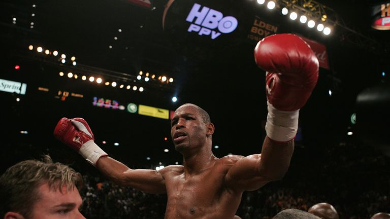 Bernard Hopkins: is not loved by Paul Smith but he can't help but admire his achievements