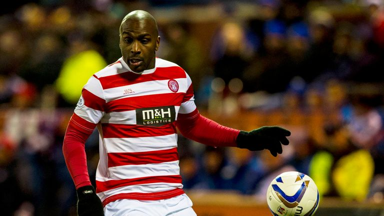 Jason Scotland: Has started just three league games this season