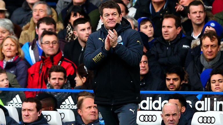 John Carver was happy with his side's tactics in the defeat