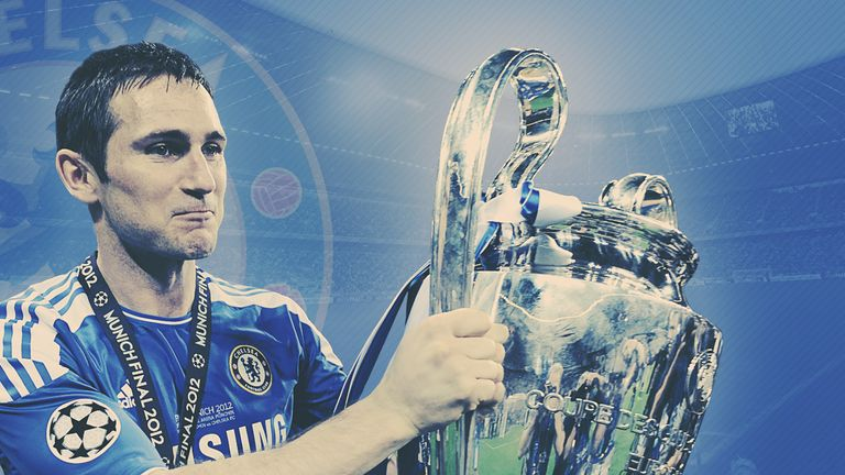 Frank Lampard looks back on Chelsea's 2012 Champions League triumph