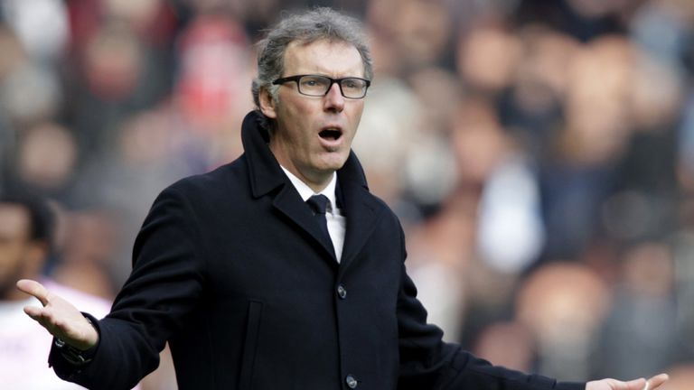 Laurent Blanc is under pressure after a poor run of form with PSG sitting third in Ligue 1.