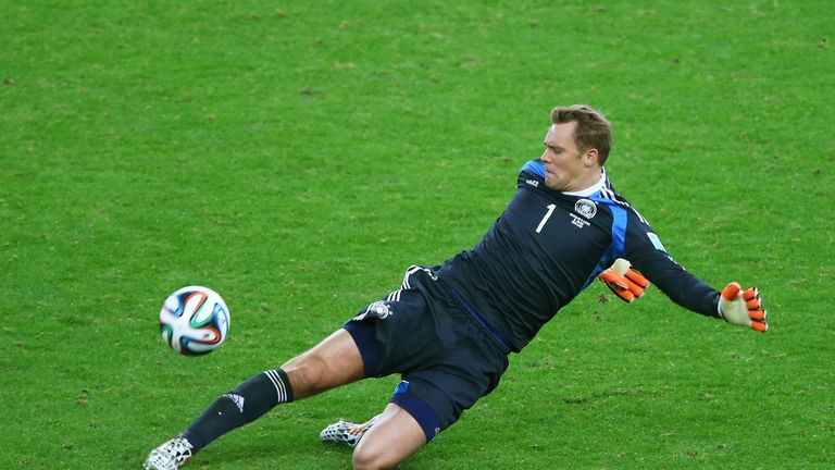 Manuel Neuer was one of the stars of the 2014 World Cup