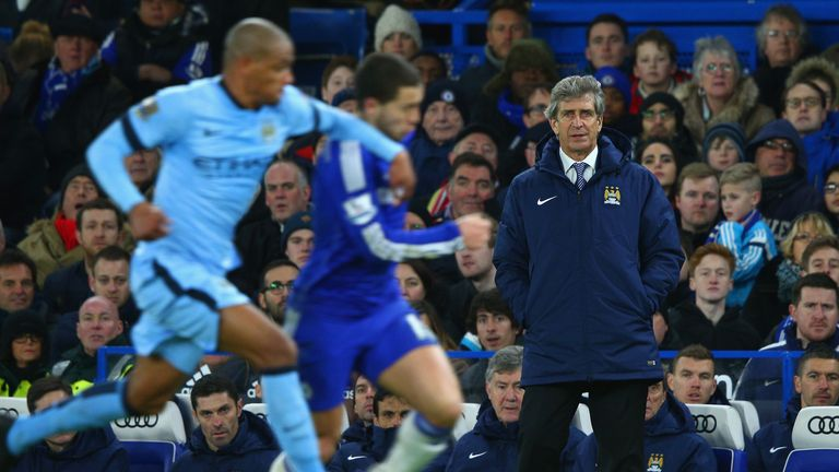 Manuel Pellegrini's Man City face a tough trip to hard-to-beat Stoke City