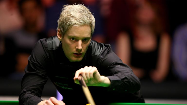 Neil Robertson: Staged a late rally