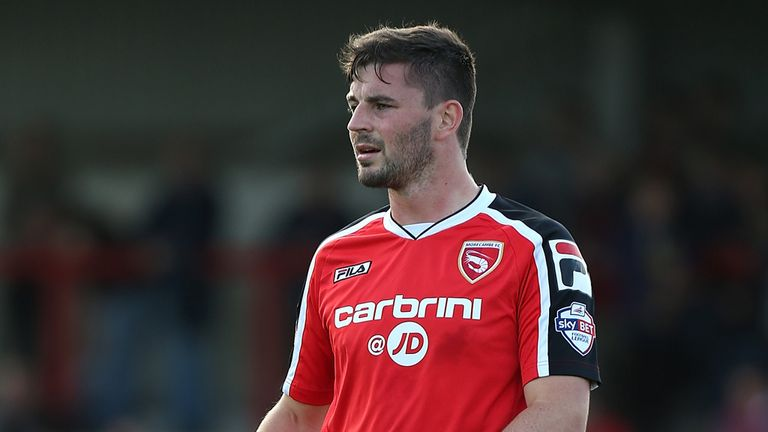 Padraig Amond: Late equaliser from the penalty spot for Morecambe