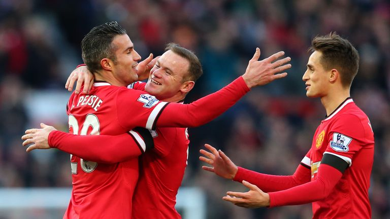 Manchester United back in the goals to crush Leicester at Old Trafford