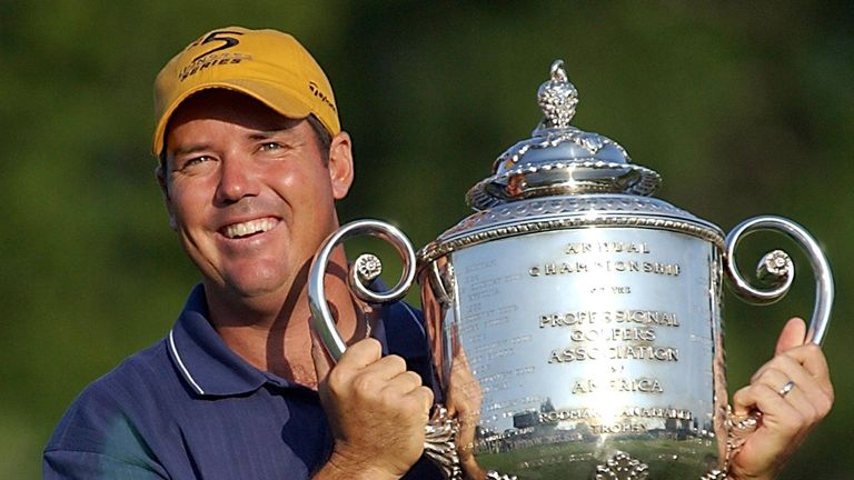 Rich Beem: Held off Tiger Woods to clinch the US PGA title at Hazeltine in 2002