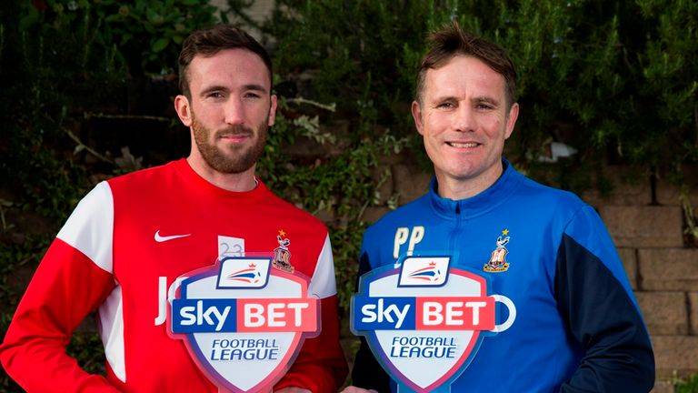 Rory McArdle, Phil Parkinson, Bradford City, Sky Bet League One Player and Manager of the Month awards, December 2014