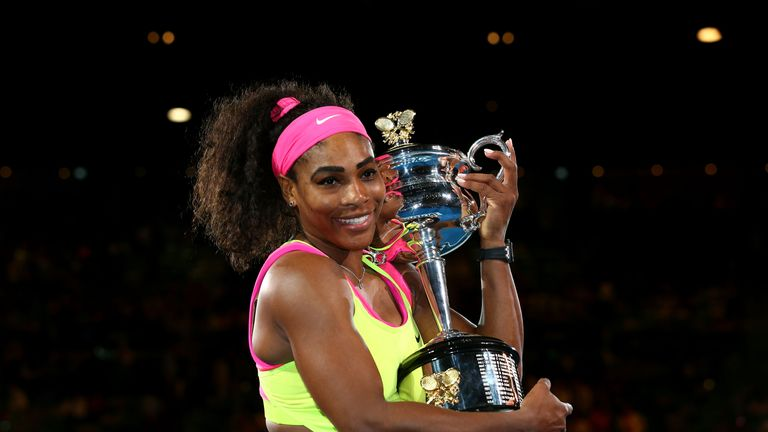 Serena Williams: Holds the Daphne Akhurst Memorial Cup