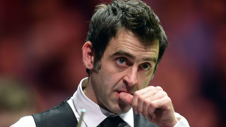 Ronnie O'Sullivan: Slow start in Sheffield