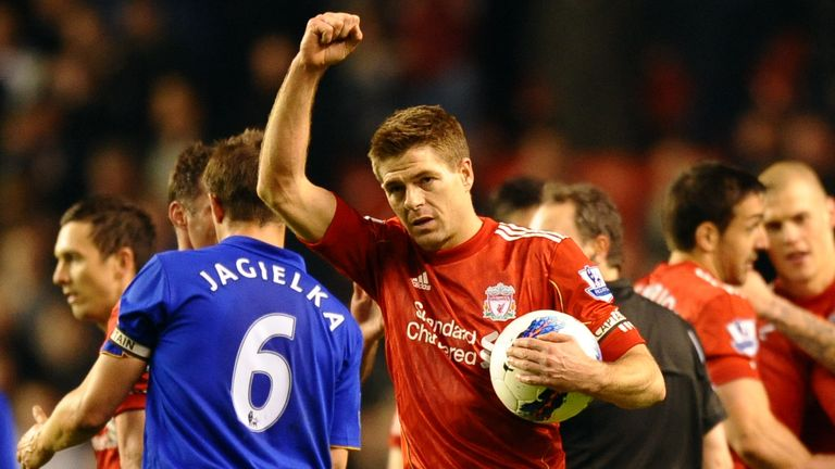 Was Liverpool's 3-0 win in 2012 - featuring a Steven Gerrard hat-trick - your favourite Merseyside derby?
