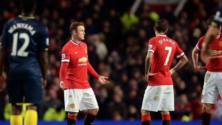 Wayne Rooney: Believes United deserved to win, despite not registering a shot on target