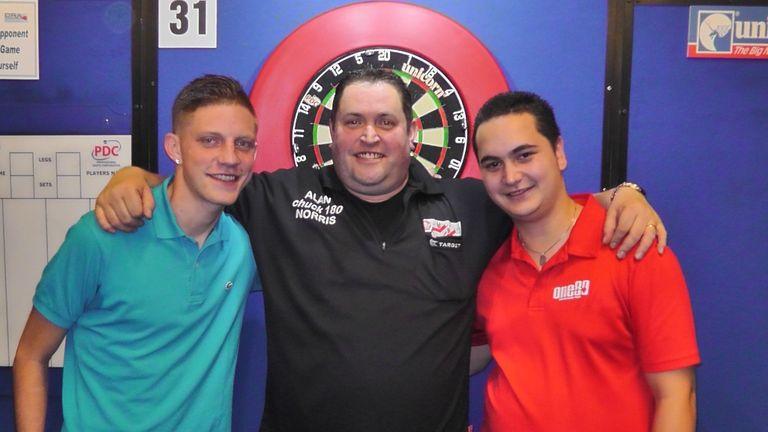 Mike Zuydwijk, Alan Norris and Jeffrey de Zwaan earned Tour cards