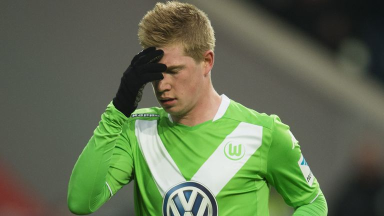 De Bruyne: No formal offers have been made for the midfielder