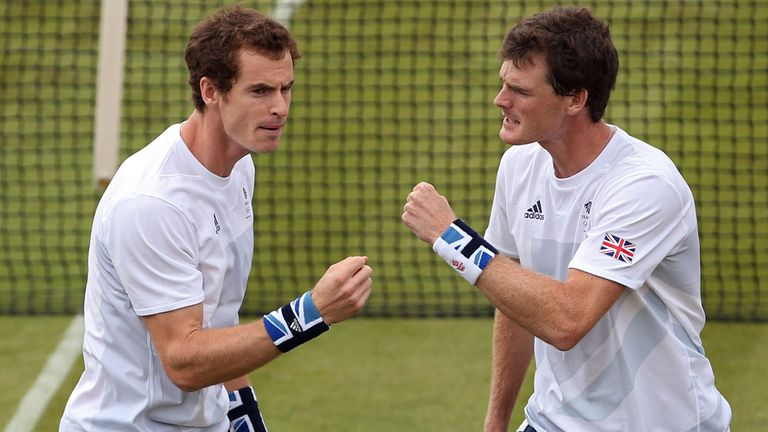 Jamie Murray is not expecting to play doubles with Andy this year
