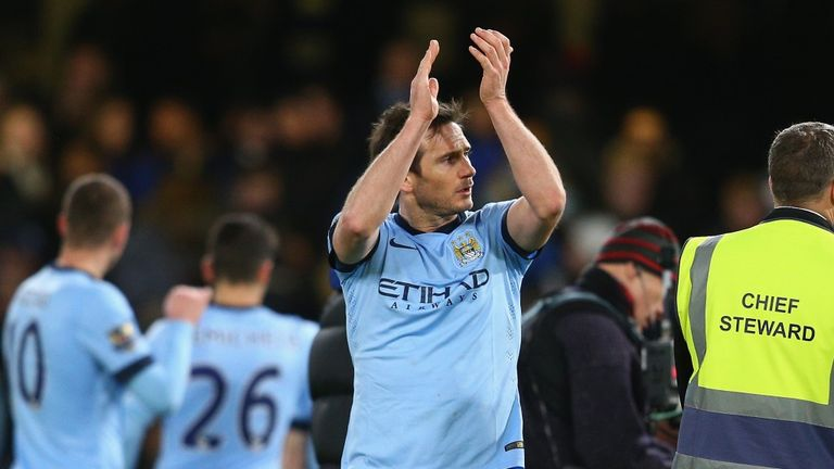 Frank Lampard: Finishes Premier League career at Manchester City after Chelsea glory