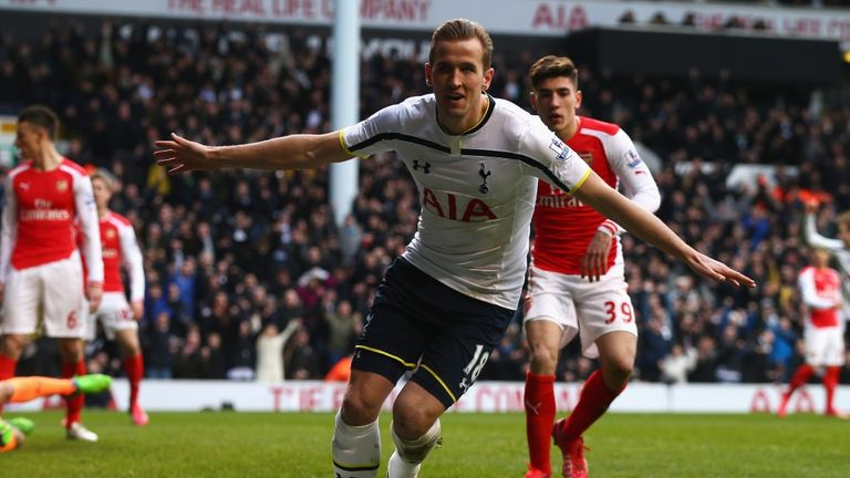 Kane: Has now scored four goals in Tottenham's last two league games.