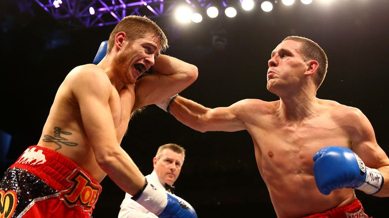 Joe Murray came unstuck against Liam Walsh when he tried to had the British title to his amateur success