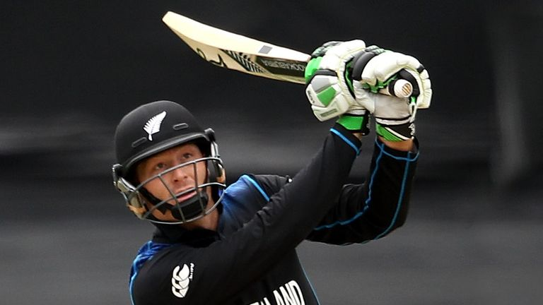 New Zealand's Martin Guptill cleared the Cake Tin roof with a six against the West Indies in Wellington, something only one other man has ever done