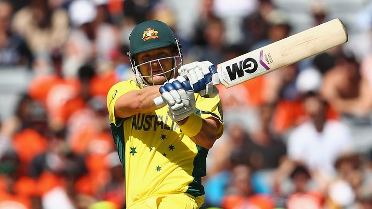 Shane Watson left out of Australia ODI squad for India series | Cricket News | Sky Sports