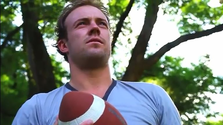 AB de Villiers gets all emotional in a still from his music video - 'Make Your Dreams Come True'