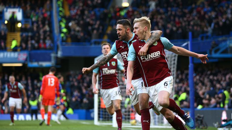Burnley are one of a host of teams to get something at Stamford Bridge