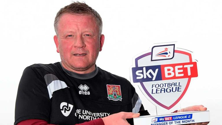 Chris Wilder: Northampton on the rise in League Two