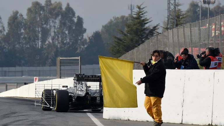 Red Bull also experienced unreliability during testing