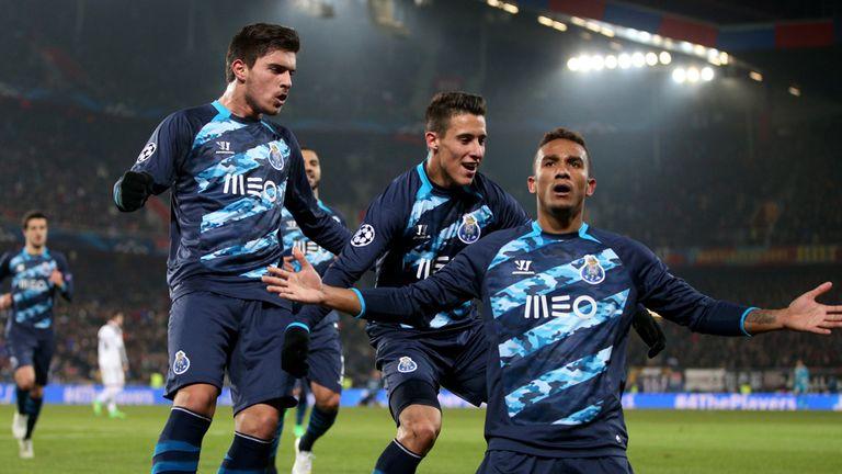 Danilo of FC Porto celebrates