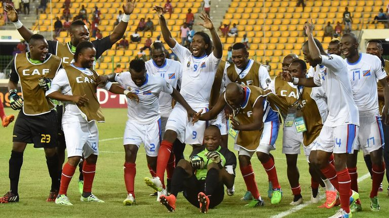 DR Congo clinched third place with victory in the penalty shootout
