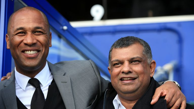 Les Ferdinand and Tony Fernandes: Putting in place a new strategy at QPR