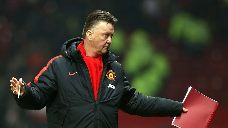 Louis van Gaal: The Dutchman had denied the FA charge against him.