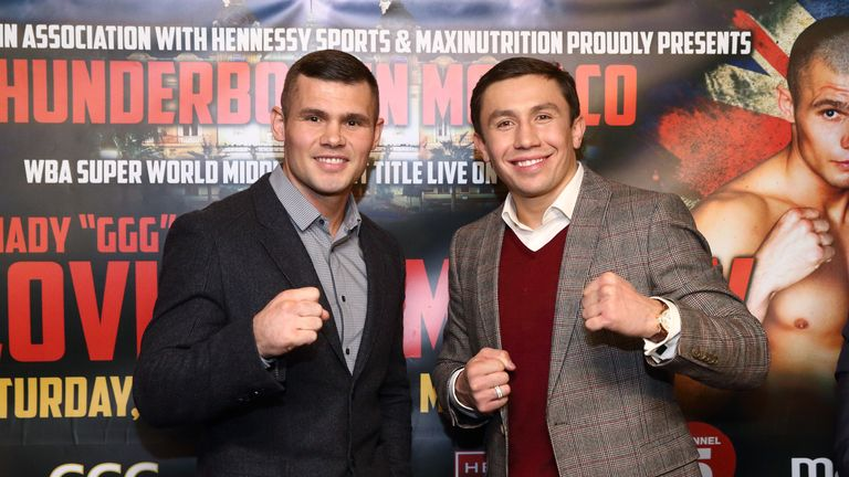 Martin Murray and Gennady Golovkin: the smiling, polite GGG is  frightening in the ring.