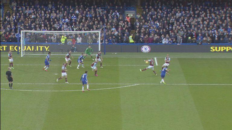 Michael Kightly handball against Chelsea