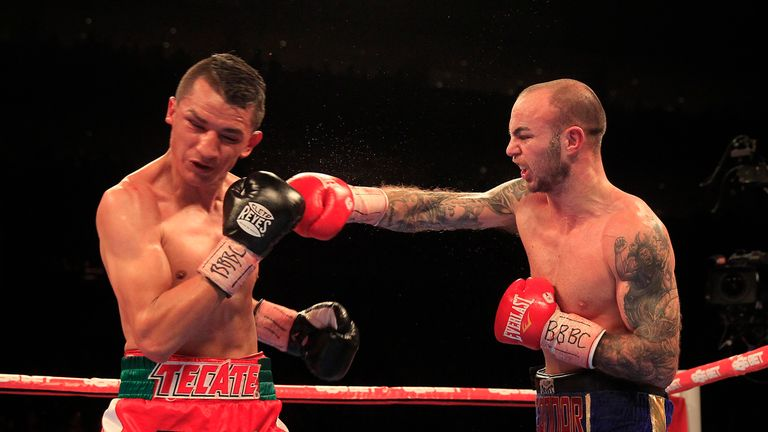Kevin Mitchell: can take on the very best now, says Glenn