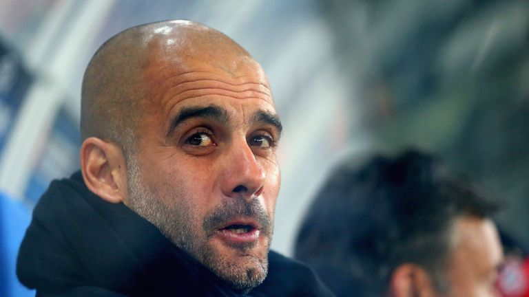 Pep Guardiola: saw his side have just one shot on target - in the first minute