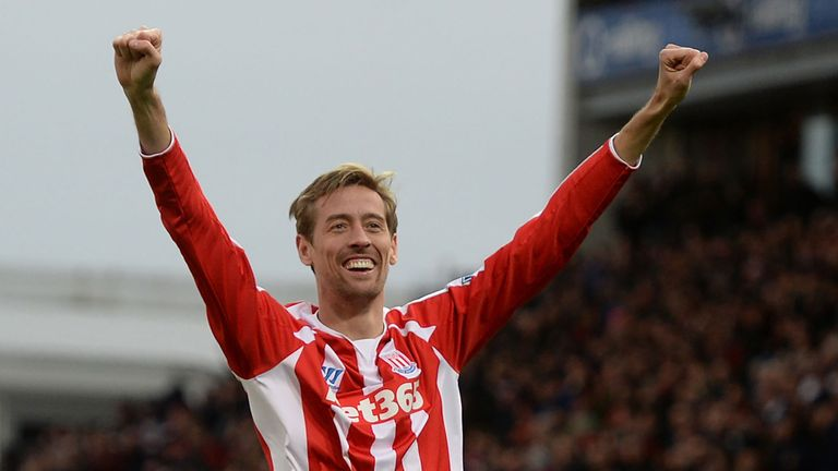 Peter Crouch scored the only goal as Stoke beat Hull 1-0