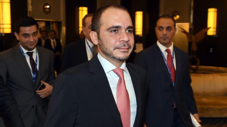 Prince Ali Bin Al Hussein: One of three remaining challengers for Sepp Blatter's presidency